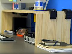 Modular Desk Risers