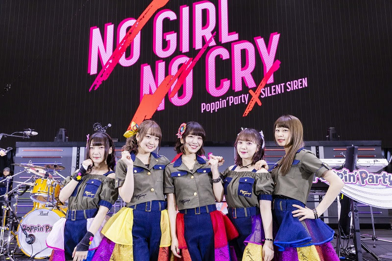 [迷迷音樂] Poppin'Party×SILENT SIREN「NO GIRL NO CRY」2DAYS圓滿結束 Poppin'Party秋巡宣布
