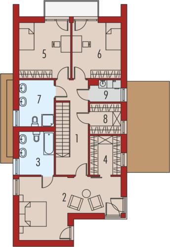 EX 5 G1 soft - Rzut piętra
