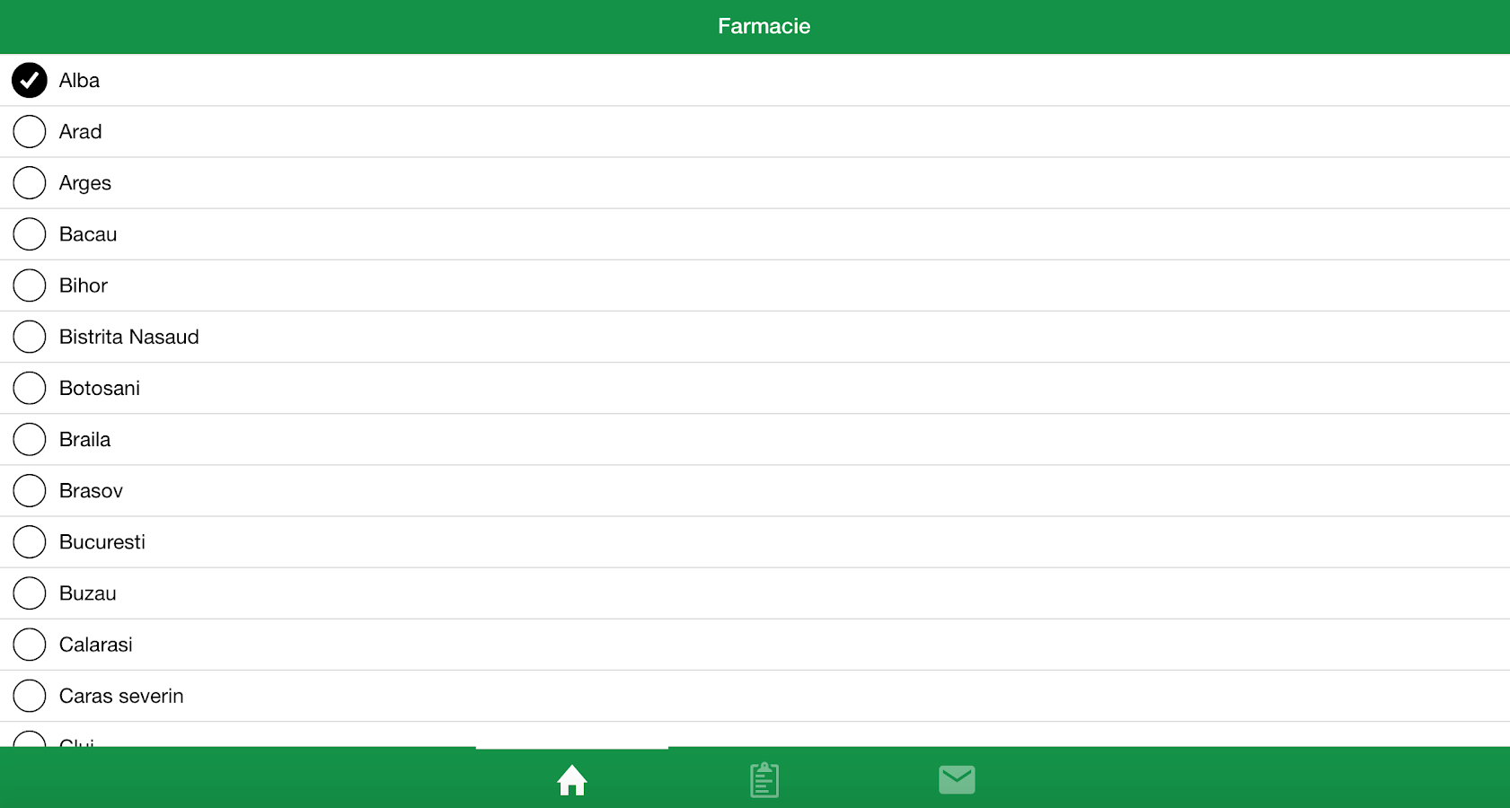 Farmacie- screenshot