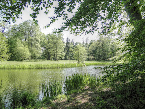 Photo: Schlosspark Pansevitz im Mai 2015 (HDR)