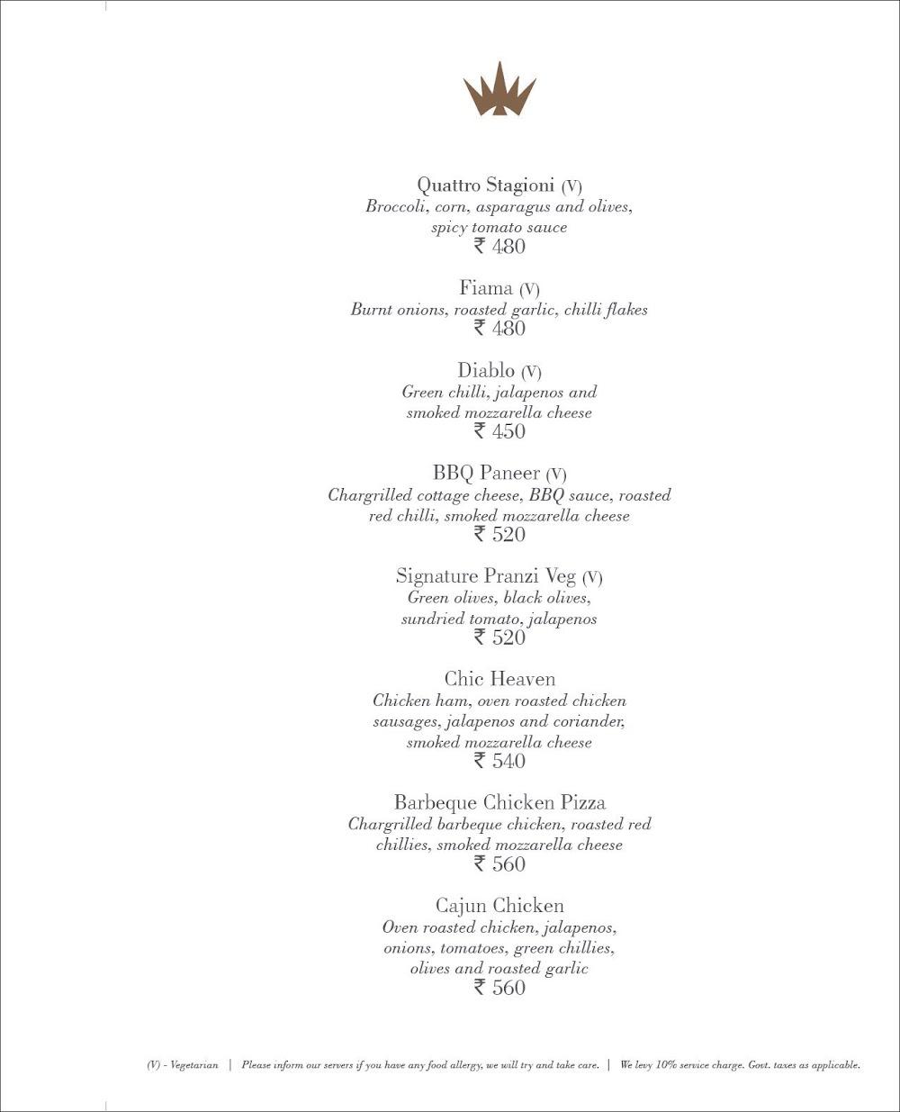 Pranzi menu 17