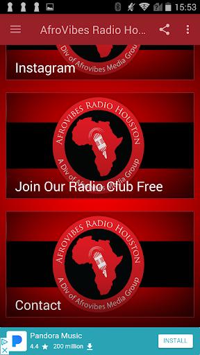 AfroVibes Radio Houston  screenshots 1