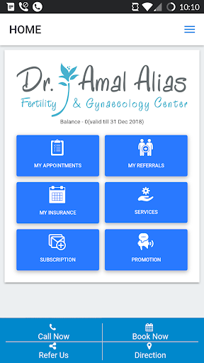 Dr.Amal Fertility Center 1.3.0 screenshots 1