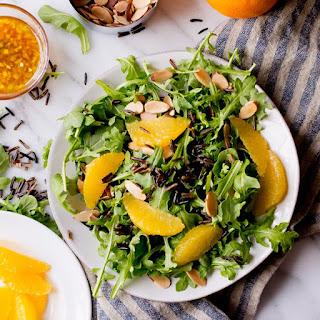 Arugula Wild Rice Salad with Orange