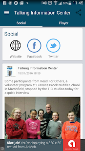 Talking Information Center- screenshot thumbnail