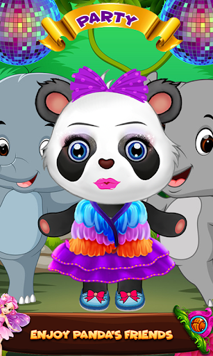Cute Panda Cleanup Salon: Panda Wash & Makeup Spa 1.0 screenshots 14