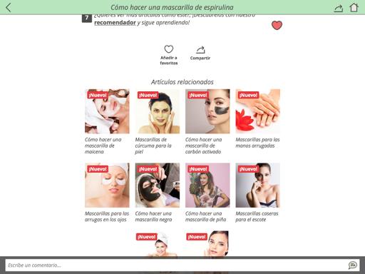 玩免費遊戲APP|下載Mascarillas caseras de belleza app不用錢|硬是要APP