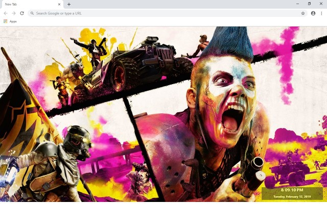 Rage 2 New Tab & Wallpapers Collection