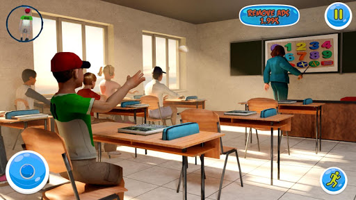 Hello Scary School Teacher 3D – Spooky Games apktreat screenshots 1