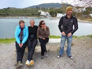 Photo: Isabelle, Patrick, M-O et Sylvain