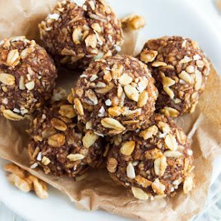 Hemp Seed And Almond Chocolate Bites.