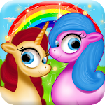 Little Pony Girls Horse Care Icon