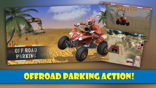 越野停车的3D模拟器