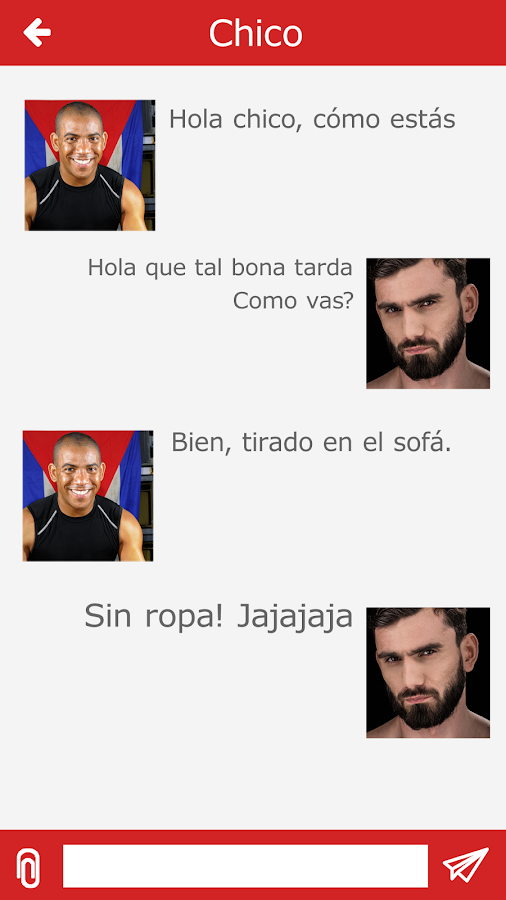 Bakala - Free Spanish gay chat- screenshot