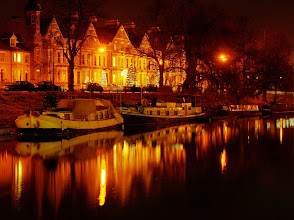 Photo: Reflections of Arundel house hotel on the Cam