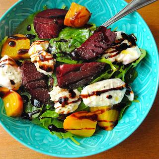 Roasted Beet & Burrata Salad Recipe
