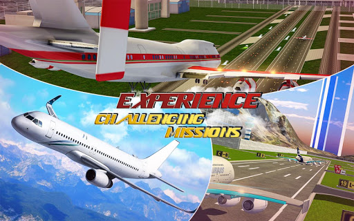 Real Plane Flight Simulator: Fly 3D Game apkpoly screenshots 5
