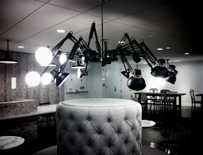 Photo: Luxo Chandlier @ Google NYC 6th Floor