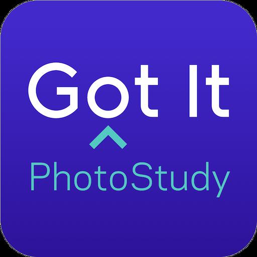 Got It PhotoStudy - Instant Expert Explanations