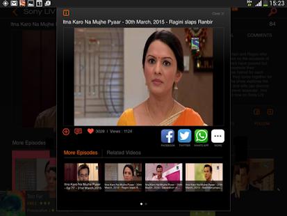 Sony LIV - screenshot thumbnail