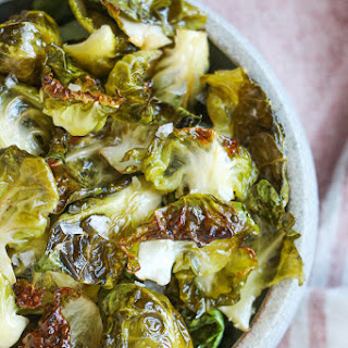 Sea Salt and Vinegar Brussels Sprouts Chips Recipe
