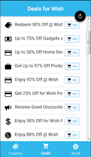 Coupons For Wish Shopping - náhled