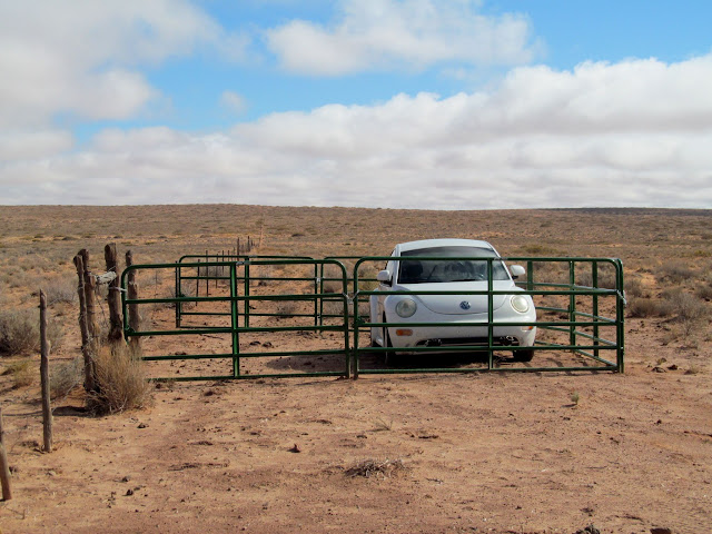 V-Dub being stored on BLM land