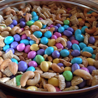 Spring Has Sprung M&M Chex Mix