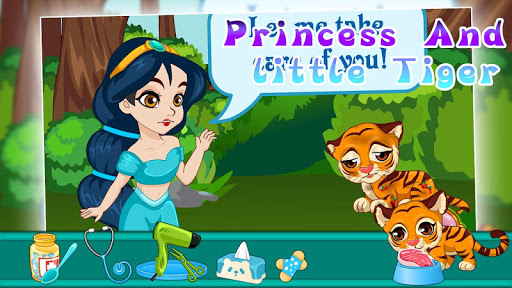 Princess and little tiger