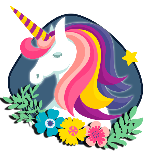 Colourful Unicorn Theme