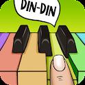 Piano of voice icon