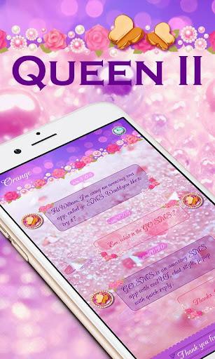 玩個人化App|GO SMS PRO QUEEN II THEME免費|APP試玩