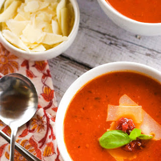 Sun Dried Fire Roasted Tomato Soup