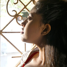Sunbath through window  by Jayanta Dutta - Nudes & Boudoir Boudoir ( boudoir, hot )