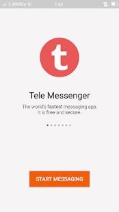 Tele Messenger - náhled