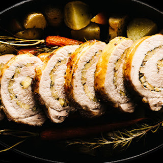 Fennel, Rosemary, Apple & Brown Sugar Pork Tenderloin.