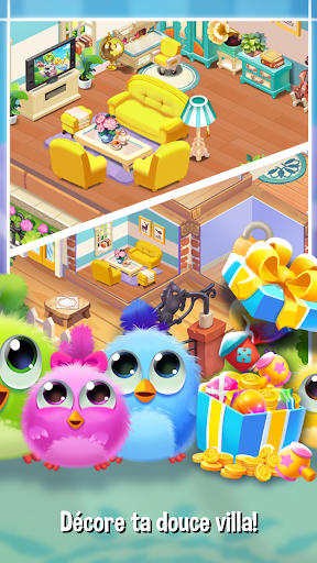 Code Triche Bird Friends : Match 3 & Free Puzzle apk mod screenshots 5