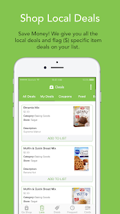 Swift Shopper - Shopping List- screenshot thumbnail