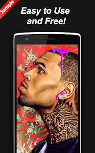 Chris Brown Wallpapers Art HD