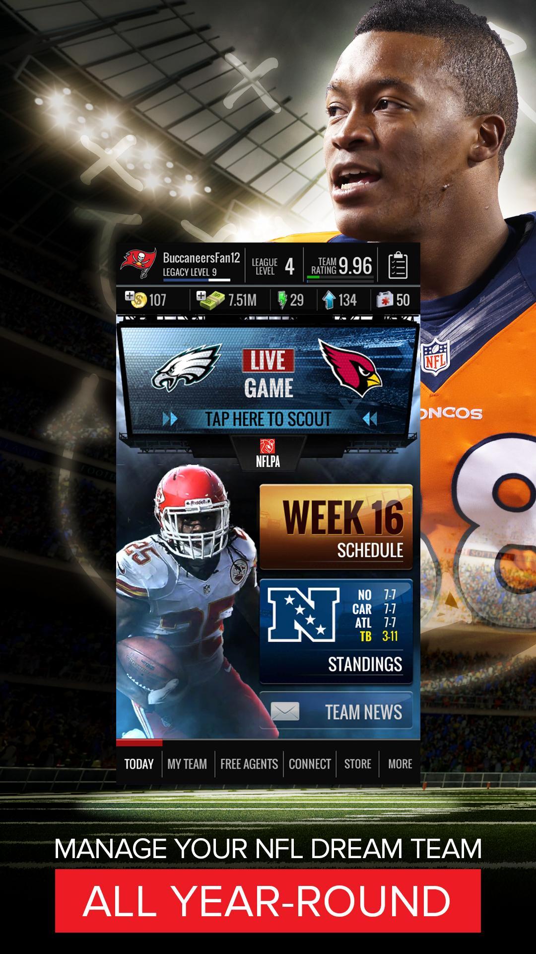 NFL Showdown: Football Manager screenshot #1