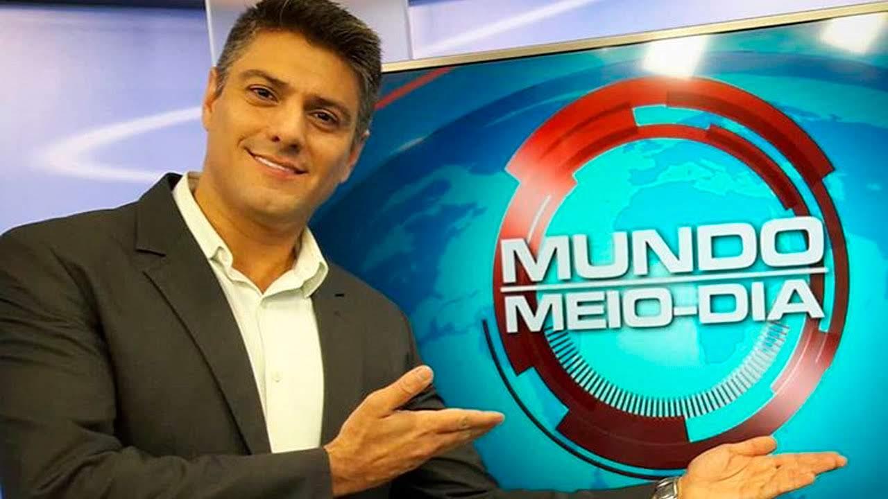 Programa 'Mundo Meio Dia' do atual canal de notícias do Grupo Record