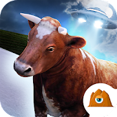 🐮 Cow Run! - UFO Farm FREE