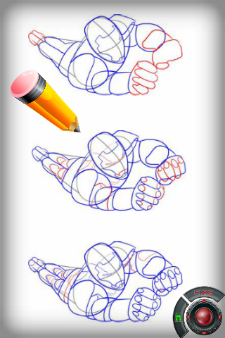 Pencil Sketch Iron Man