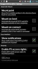 Paragon exFAT, NTFS & HFS+ Screenshot 5