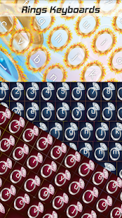 Kroužky klávesnice - náhled