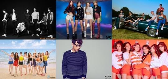 Top Agencies Including Big Hit, SM, YG, and JYP