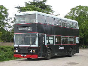 Photo: The Confidence Olympians Day Out - 16/05/2009 The 4th bus used was UWW9X, a former West Yorkshire PTE Roe bodied machine. If only those L E Y L A N D letters on the front had been painted white!