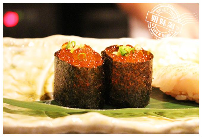 鮭魚卵握壽司