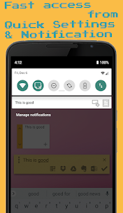 1Sec Note – Floating Cloud Note MOD APK [Donate Features Unlocked] 5